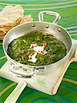Spinach with fromage frais Stock Photo - Premium Rights-Managed, Artist: Photocuisine, Code: 825-06316801