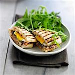 Sardine and egg toasted sandwich Stock Photo - Premium Rights-Managed, Artist: Photocuisine, Code: 825-06316840