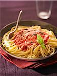 Spaghettis with tomato sauce Stock Photo - Premium Rights-Managed, Artist: Photocuisine, Code: 825-06316893