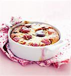 Cherry batter pudding Stock Photo - Premium Rights-Managed, Artist: Photocuisine, Code: 825-06317041