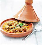 Kefta Tajine Stock Photo - Premium Rights-Managed, Artist: Photocuisine, Code: 825-06317044