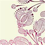 floral background Stock Photo - Royalty-Free, Artist: Sergio77                      , Code: 400-06326085