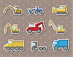 truck stickers Stock Photo - Royalty-Free, Artist: notkoo2008                    , Code: 400-06326137