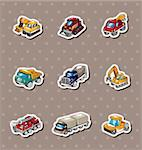 truck stickers Stock Photo - Royalty-Free, Artist: notkoo2008                    , Code: 400-06326472