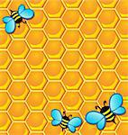 Bee theme image 2 - vector illustration. Stock Photo - Royalty-Free, Artist: clairev                       , Code: 400-06326500
