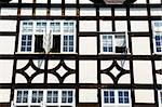 Details of timber-framed medieval house in Cambridge Stock Photo - Royalty-Free, Artist: frankix                       , Code: 400-06329285