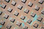 Manhole Cover Stock Photo - Premium Royalty-Free, Artist: Andrew Kolb, Code: 600-06334545