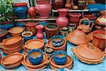 Pottery Stand, Medina, Tetouan, Morocco