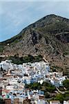 Overview of City, Chefchaouen, Chefchaouen Province, Tangier-Tetouan Region, Morocco Stock Photo - Premium Rights-Managed, Artist: Nico Tondini, Code: 700-06334571