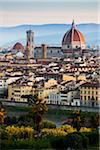 Basilica di Santa Maria del Fiore and City, Florence, Tuscany, Italy Stock Photo - Premium Rights-Managed, Artist: R. Ian Lloyd, Code: 700-06334633