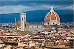Basilica di Santa Maria del Fiore and City, Florence, Tuscany, Italy Stock Photo - Premium Rights-Managed, Artist: R. Ian Lloyd, Code: 700-06334636