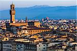 Clock Tower, Uffizi Gallery and City, Florence, Tuscany, Italy Stock Photo - Premium Rights-Managed, Artist: R. Ian Lloyd, Code: 700-06334641