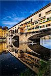 Ponte Vecchio over Arno River, Florence, Tuscany, Italy Stock Photo - Premium Rights-Managed, Artist: R. Ian Lloyd, Code: 700-06334656