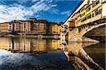 Ponte Vecchio over Arno River, Florence, Tuscany, Italy Stock Photo - Premium Rights-Managed, Artist: R. Ian Lloyd, Code: 700-06334657