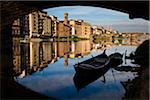 Boats Underneath Ponte Vecchio on Arno River, Florence, Tuscany, Italy Stock Photo - Premium Rights-Managed, Artist: R. Ian Lloyd, Code: 700-06334659