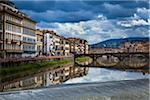 Buildings Alongside Arno River, Florence, Tuscany, Italy Stock Photo - Premium Rights-Managed, Artist: R. Ian Lloyd, Code: 700-06334662