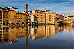 Buildings Alongside Arno River, Florence, Tuscany, Italy Stock Photo - Premium Rights-Managed, Artist: R. Ian Lloyd, Code: 700-06334663