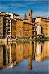 Buildings Lining Arno River, Florence, Tuscany, Italy Stock Photo - Premium Rights-Managed, Artist: R. Ian Lloyd, Code: 700-06334664