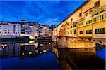 Ponte Vecchio over Arno River, Florence, Tuscany, Italy Stock Photo - Premium Rights-Managed, Artist: R. Ian Lloyd, Code: 700-06334668