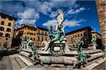 Fountain of Neptune, Piazza della Signoria, Florence, Tuscany, Italy Stock Photo - Premium Rights-Managed, Artist: R. Ian Lloyd, Code: 700-06334675