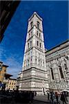 Giottos Campanile, Basilica di Santa Maria del Fiore, Florence, Tuscany, Italy Stock Photo - Premium Rights-Managed, Artist: R. Ian Lloyd, Code: 700-06334679