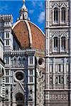 Close-Up of Basilica di Santa Maria del Fiore, Florence, Tuscany, Italy Stock Photo - Premium Rights-Managed, Artist: R. Ian Lloyd, Code: 700-06334680