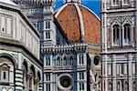 Close-Up of Basilica di Santa Maria del Fiore, Florence, Tuscany, Italy Stock Photo - Premium Rights-Managed, Artist: R. Ian Lloyd, Code: 700-06334681