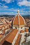 View of City from Basilica di Santa Maria del Fiore, Florence, Tuscany, Italy Stock Photo - Premium Rights-Managed, Artist: R. Ian Lloyd, Code: 700-06334683