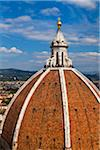 Close-Up of Dome of Basilica di Santa Maria del Fiore, Florence, Tuscany, Italy Stock Photo - Premium Rights-Managed, Artist: R. Ian Lloyd, Code: 700-06334684