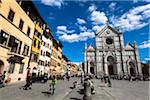 Basilica of Santa Croce, Piazze Santa Croce, Florence, Tuscany, Italy Stock Photo - Premium Rights-Managed, Artist: R. Ian Lloyd, Code: 700-06334695