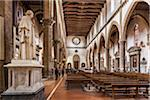 Interior of Basilica of Santa Croce, Piazze Santa Croce, Florence, Tuscany, Italy Stock Photo - Premium Rights-Managed, Artist: R. Ian Lloyd, Code: 700-06334697