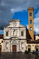 Chiesa di San Salvatore a Ognissanti, Florence, Tuscany, Italy Stock Photo - Premium Rights-Managednull, Code: 700-06334733