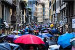 Busy Street on Rainy Day, Florence, Tuscany, Italy Stock Photo - Premium Rights-Managed, Artist: R. Ian Lloyd, Code: 700-06334755