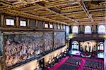 Salone dei Cinquecento, Palazzo Vecchio, Florence, Tuscany, Italy Stock Photo - Premium Rights-Managed, Artist: R. Ian Lloyd, Code: 700-06334787