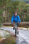 Cyclist on a mountain bike, mountain biker Stock Photo - Premium Royalty-Free, Artist: Aurora Photos, Code: 6106-06335218
