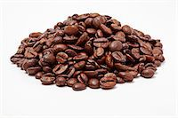 Coffee beans Stock Photo - Premium Royalty-Freenull, Code: 614-06336038