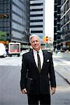 Businessman in New York City street Stock Photo - Premium Royalty-Free, Artist: CulturaRM, Code: 614-06336176