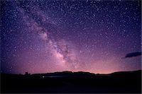 sky stars - Starry sky at night, mono lake, california, usa Stock Photo - Premium Royalty-Freenull, Code: 614-06336210