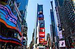 Times Square, New York City, USA Stock Photo - Premium Royalty-Free, Artist: Robert Harding Images, Code: 614-06336225