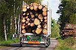 Truck carrying timber Stock Photo - Premium Royalty-Free, Artist: Michael Mahovlich, Code: 6102-06336510
