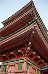 Kiyomizu temple (Kiyomizu-dera) pagoda, Kyoto, Japan Stock Photo - Premium Rights-Managed, Artist: Oriental Touch, Code: 855-06337467