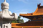Roof sculpture, Western monastery, Lo Wai, Tsuen Wan, Hong Kong Stock Photo - Premium Rights-Managed, Artist: Oriental Touch, Code: 855-06338230