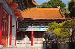Western monastery, Lo Wai, Tsuen Wan, Hong Kong Stock Photo - Premium Rights-Managed, Artist: Oriental Touch, Code: 855-06338245
