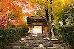 Jakkou-in temple in autumn, Ohara, Kyoto, Japan Stock Photo - Premium Rights-Managed, Artist: Oriental Touch, Code: 855-06338287