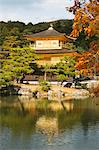 Rokuon-ji Temple (Kinkakuji) in autumn, Kyoto, Japan Stock Photo - Premium Rights-Managed, Artist: Oriental Touch, Code: 855-06338439