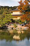 Rokuon-ji Temple (Kinkakuji) in autumn, Kyoto, Japan Stock Photo - Premium Rights-Managed, Artist: Oriental Touch, Code: 855-06338440