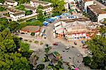 Birds eye view of Central Plaza, Yangshuo, Guilin, China Stock Photo - Premium Rights-Managed, Artist: Oriental Touch, Code: 855-06338652