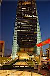 ICC building from Civic Square at dusk, Kowloon west, Hong Kong Stock Photo - Premium Rights-Managed, Artist: Oriental Touch, Code: 855-06339135