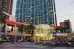 Civic Square at dusk, Kowloon west, Hong Kong Stock Photo - Premium Rights-Managed, Artist: Oriental Touch, Code: 855-06339166