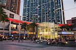 Civic Square at dusk, Kowloon west, Hong Kong Stock Photo - Premium Rights-Managed, Artist: Oriental Touch, Code: 855-06339169